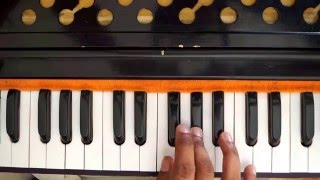 Best Lesson for Learning Harmonium Sargam Riyaz Vocal