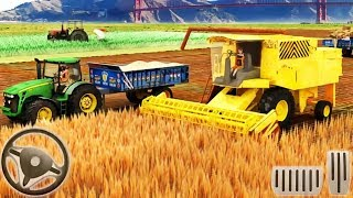 Real Tractor Farming Simulator 2018 - Tractor Driving - Android GamePlay
