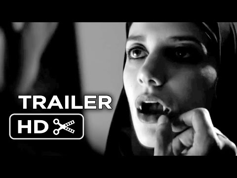 A Girl Walks Home Alone at Night Official Trailer 1 (2014) - Horror Movie HD