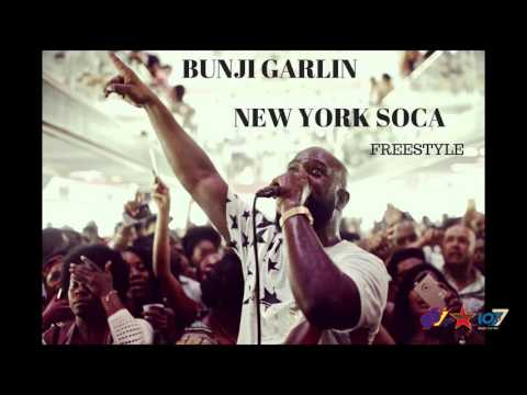 Bunji Garlin - New York Soca Freestyle