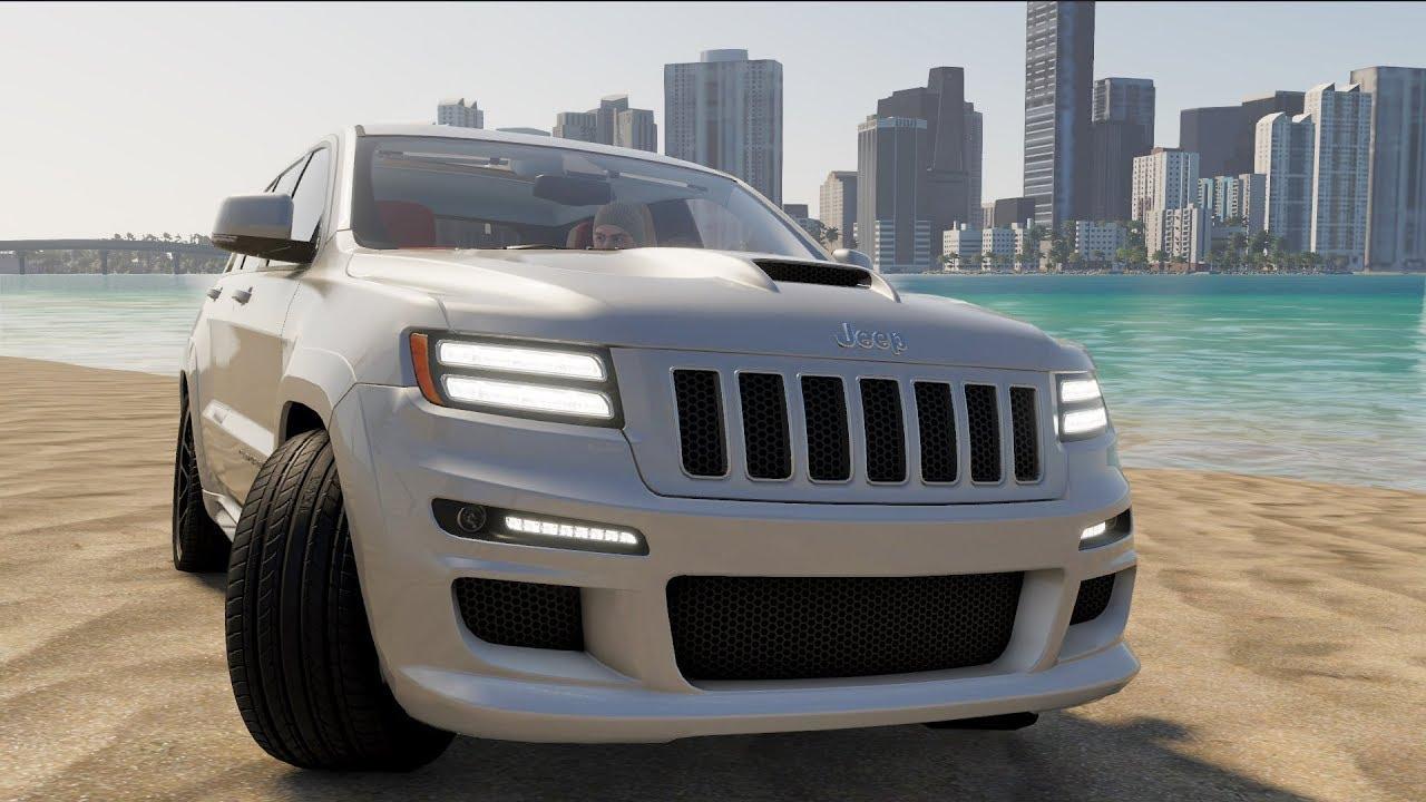 Custom Jeep Grand Cherokee >> The Crew 2 Jeep Grand Cherokee Srt8 2012 Custom Open World Free Roam Gameplay Hd
