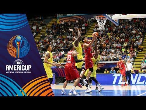 Top 5 Plays - Day 2 - FIBA AmeriCup 2017