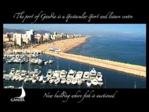 GANDIA, Best warm beaches in Spain