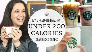 How To Lose Weight // Starbucks: Best Drinks Under 200 Calories // Healthy Starbucks Drinks