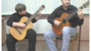 Романс Гомеса, дуэт гитар, Gomez' Romance, for 2 guitar