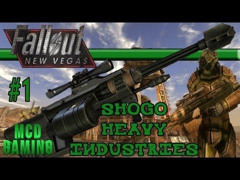 new vegas light machine gun