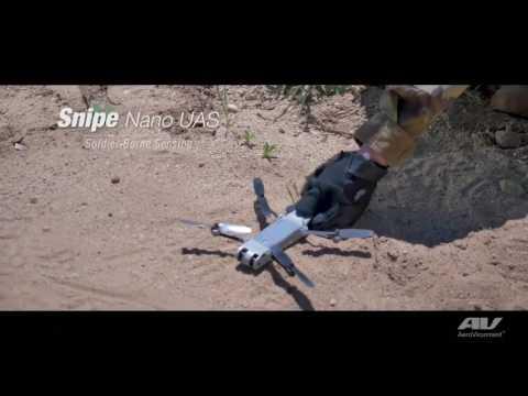 AeroVironment, Developer of the Nano Hummingbird, Unveils Snipe™, A New, Stealthy Nano Quadrotor UAS