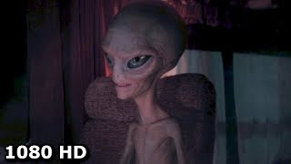 Пол становится невидимым - Прикол из фильма Пол: Секретный материальчик (2011)