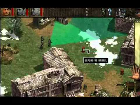 Commandos behind enemy lines mission 08 with cheat codes youtube.