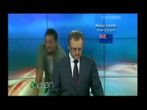 TVNZ's ONE NEWS ON ELLEN ON ONE NEWS
