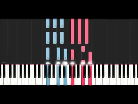 BTS RM & V - 4 O'Clock (Piano Tutorial )