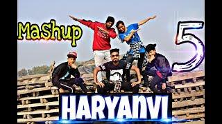 The Haryanvi mashup 5 Dance   Haryanavi Hip Hop   Lokesh Gurjar   Choreography by   Amit Kumar  