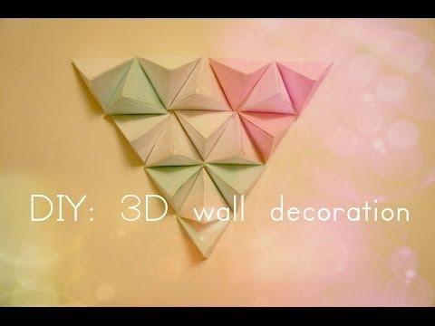 DIY Clock Wall Art (3D)
