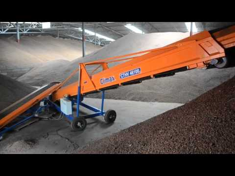 Climax Mobile Solids Handling Line - Cacao Beans, Hamburg