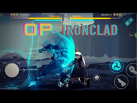 Shadow fight Arena tactical ironclad gameplay opponent surrendered ⚔️ |