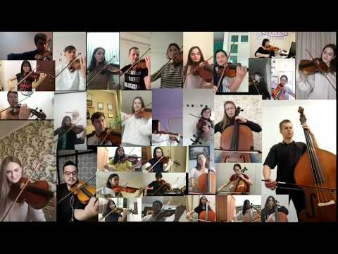 Happy Birthday - 34 Orchestra Musicians From 3 Countries