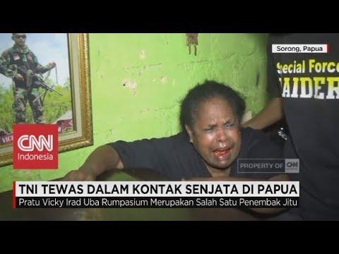 TNI Tewas Dalam Kontak Senjata di Papua, Keluarga Histeris Mp3