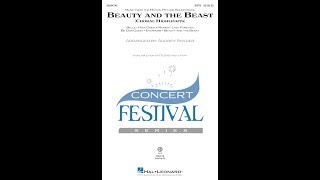 Beauty and the Beast (Choral Highlights) (SATB) - Arranged by Audrey Snyder