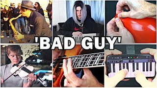 Who Played it Better: Bad Guy Sax, Balloon, Piano, Bass Guitar, Violin, iPhone