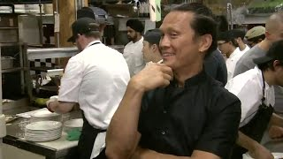 A night in the Fring's Kitchen with Chef Bobby Flay and Chef Susur Lee