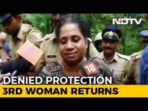 On Your Own, Cops Told Woman After Sabarimala Protests Forced 2 To Return