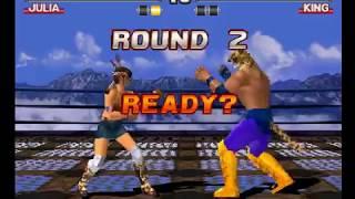 Tekken 3 ( PS1 ) - Julia - Arcade Mode - Original Music ( Dec 27, 2017 ) thumbnail