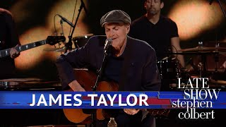 James Taylor Performs 'Carolina In My Mind'