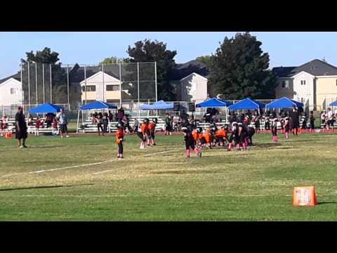 Masai 1st touchdown vs Huron