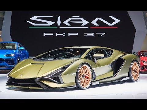 Lamborghini Sian FKP 37 Exterior and Interior