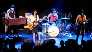 WILD FLAG See No Evil + Ask The Angels BOWERY BALLROOM NYC October 18 2011