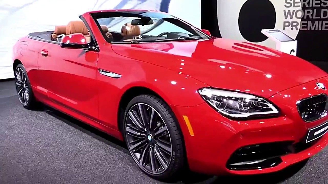 2018 bmw 6 series convertible gt limited special first. Black Bedroom Furniture Sets. Home Design Ideas