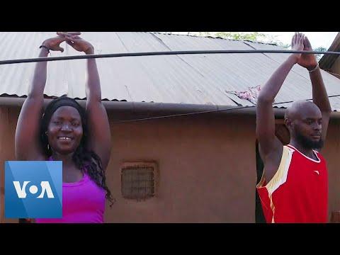 Ugandan Refugee Uses Yoga to Promote Well-being in Kenyan Camp