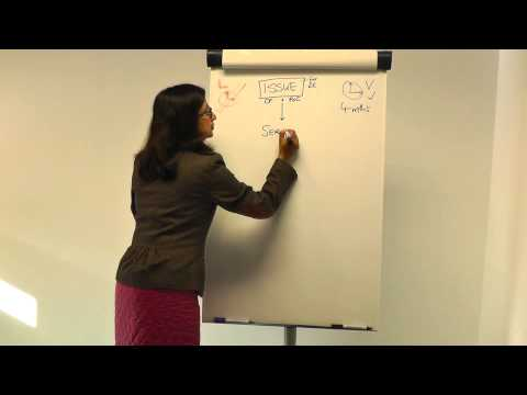 Snigdha's video podcast - how to make diagrammatic notes for Civil Litigation (BPTC)