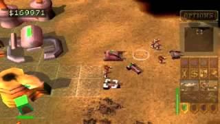 Dune 2000 sur Playstation