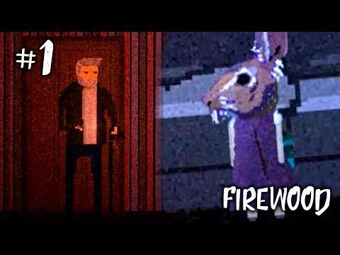 ИНДИ-ХОРРОР ИГРА ► Firewood Прохождение #1 ► ДЕД ПРОТИВ КРОЛИКА!