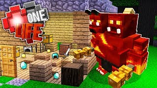 OGRES DESTROYED MY HOUSE!! | ONE LIFE #25