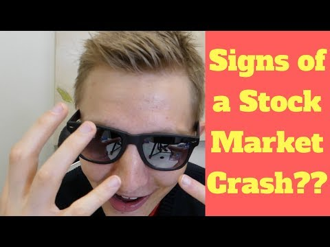 SIGNS OF A STOCK MARKET CRASH??? - Stock Market News Today