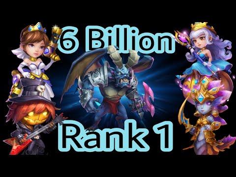Castle Clash - Archdemon | 6 Billion | Rank-1 | Summons Monsters And Area Damage | Castleclash