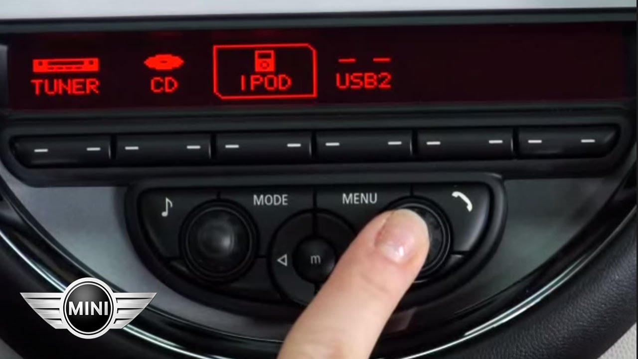 Mini Usa Mini Radio 10 Ipod Setup Youtube