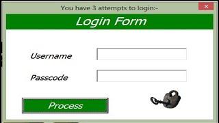 Excel Userform Login Tutorial