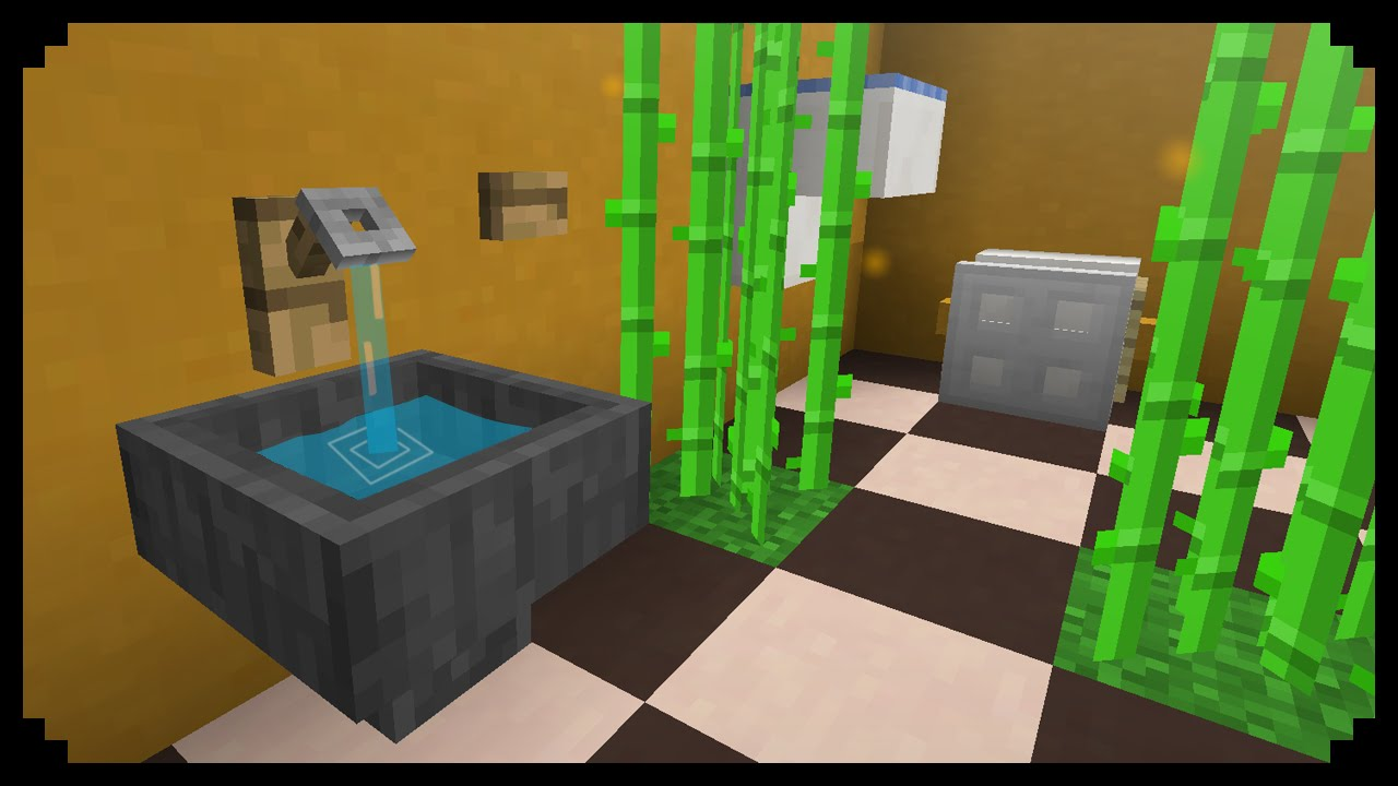 minecraft how to make a hand dryer youtube