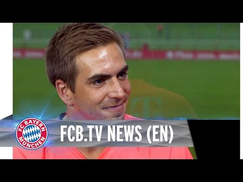 Philipp Lahm on 1st week of training