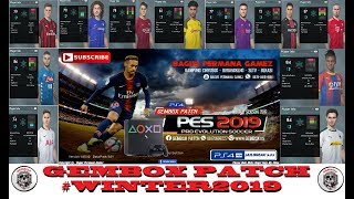 PES 2018 PS4 GemboX Patch Winter Transfer 2019