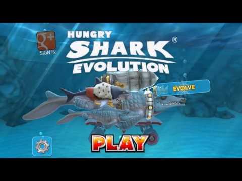 Hungry Shark Evolution Pimp Mr. Snappy + Baby King Shark