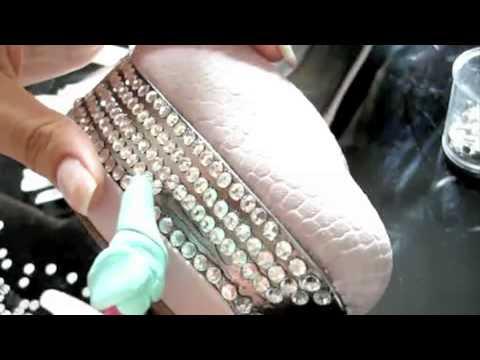 Туфли со стразами своими руками - видео инструкция