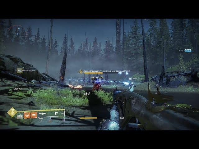 D2:Forsaken#606 ETZ Saboteure |Locations| Black Armory Weapon drop möglich [HD][PS4