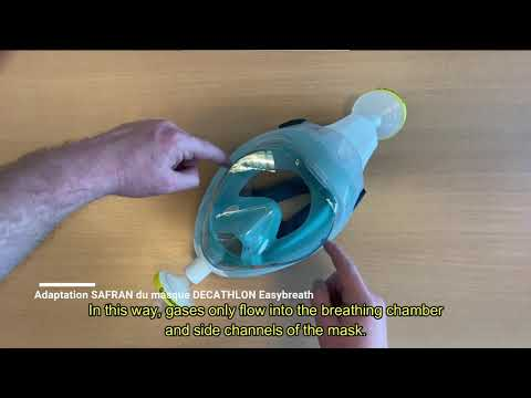 Kit Easybreath Anticovid: How to prepare the emergency mask developed by SEGULA and Safran?
