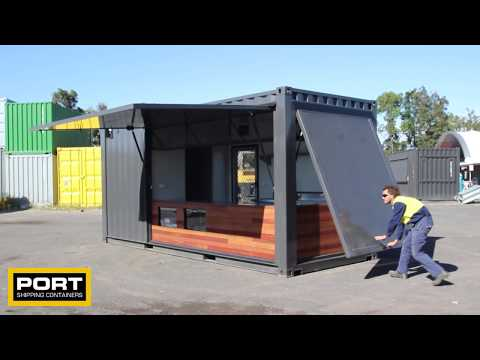 20ft Shipping Container Cafe