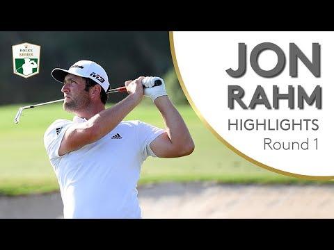 Jon Rahm Highlights | Round 1 | 2018 DP World Tour Championship, Dubai