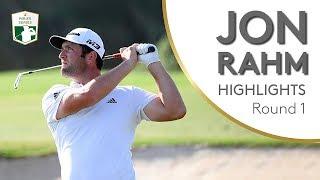 Jon Rahm Highlights   Round 1   2018 DP World Tour Championship, Dubai